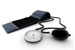 Medizinischer Sphygmomanometer lizenzfreie abbildung