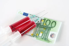 Medizinisches Bestechungsgeldkonzept Lizenzfreies Stockfoto
