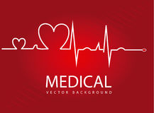 Medizinisches Design Stockbild
