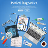 Medizinisches Diagnostikkonzept Lizenzfreie Stockbilder
