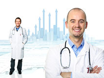 Medizinisches Diagramm Stockbild