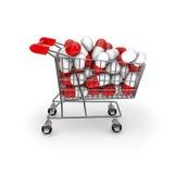 Medizinisches Einkaufen Lizenzfreies Stockfoto