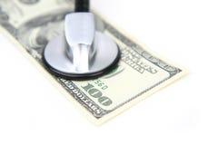 Medizinisches Geld Stockfotografie