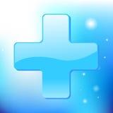 Medizinisches Kreuz Stockbild
