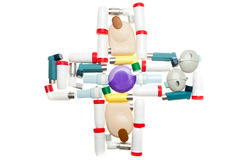 Medizinisches Kreuz Stockfoto