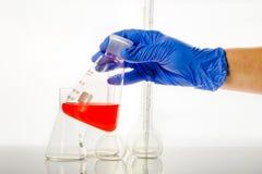 Medizinisches Laboranalyse Stockfotos