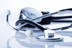 Medizinisches Stethoskop Stockfoto