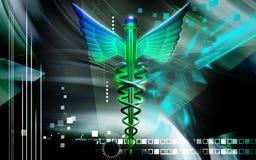 Medizinisches Symbol Stockbild