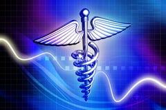 Medizinisches Zeichen lizenzfreie stockbilder
