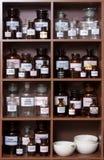 Medizinkabinett Stockfoto