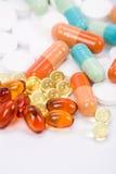 Medizinpillen stockfotos
