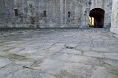 Medjit Tabia one old fortification stronghold. Near Silistra Royalty Free Stock Photo