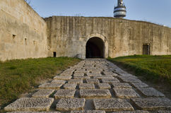 Medjit Tabia une vieille forteresse de fortification Photo stock