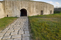 Medjit Tabia une vieille forteresse de fortification Image stock