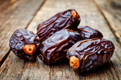 Medjool dates Stock Image