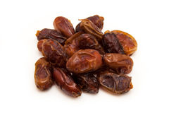 Medjool dates isolated on a white background. Royalty Free Stock Images