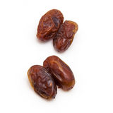 Medjool dates isolated on a white background. Stock Image
