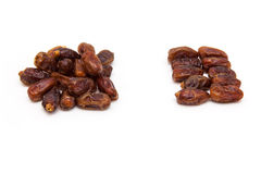 Medjool dates isolated on a white background. Royalty Free Stock Image