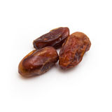 Medjool dates isolated on a white background. Stock Photography