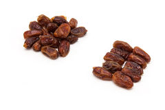 Medjool dates isolated on a white background. Royalty Free Stock Photos