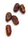 Medjool dates isolated on a white background. Stock Photos