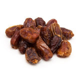 Medjool dates  on a white background. Stock Photography