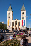 Medjugorje Bósnia e Herzegovina fotos de stock royalty free