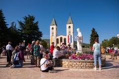 Medjugorje Bósnia e Herzegovina imagem de stock royalty free