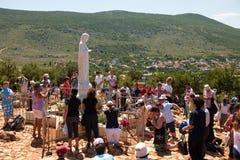 Medjugorje Bósnia e Herzegovina Fotos de Stock