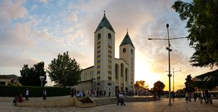 Medjugorje, Bosnia and Herzegovina royalty free stock photography
