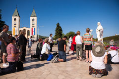 Medjugorje Bosnia and Herzegovina Stock Image