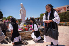 Medjugorje Bosnie-Herzégovine Photo stock