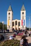 Medjugorje Bosnie-Herzégovine Photos libres de droits