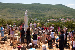 Medjugorje Bosnie-Herzégovine Photos stock