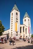 Medjugorje Bosnien och Hercegovina Arkivfoton