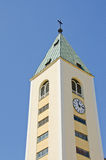 Medjugorje, St. James Church Stock Photo