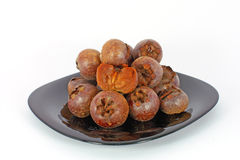 Medlar fruit Royalty Free Stock Images