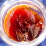 Medlar jelly closeup Stock Photography
