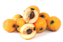 Medlars produced with organic cultivation Royalty Free Stock Images
