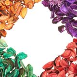 Medley potpourri copyspace composition Royalty Free Stock Image