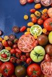 Medley of Tomato Varieties Stock Photo
