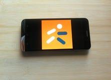 Medlife app στοκ εικόνες