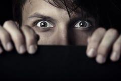 Medo da testemunha Imagens de Stock Royalty Free