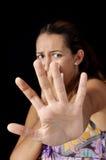Medo da testemunha Imagem de Stock Royalty Free
