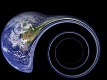 Medo do grande Collider do Hadron Ilustração Royalty Free