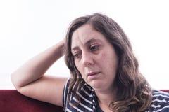Medo, solidão, depressão, abuso, apego imagens de stock royalty free