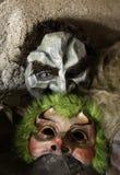 Medo Venetian da máscara foto de stock