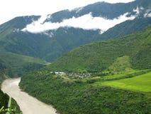 Medog-Landschaft lizenzfreies stockbild