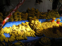 Medori-Bananen-Markt Mexiko Stockfotografie