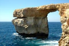 Medori-Bogen des Felsens Malta Lizenzfreies Stockfoto